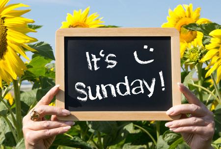 It is Sunday
