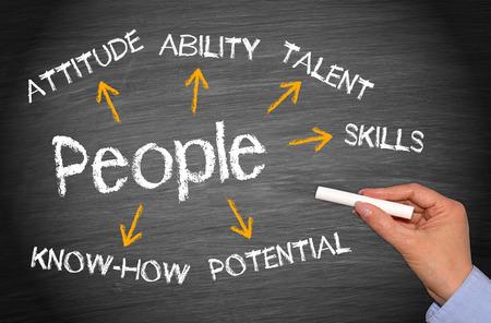 Foto de People - Business Concept - Imagen libre de derechos