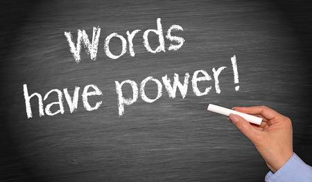 Foto de Words have power - Imagen libre de derechos