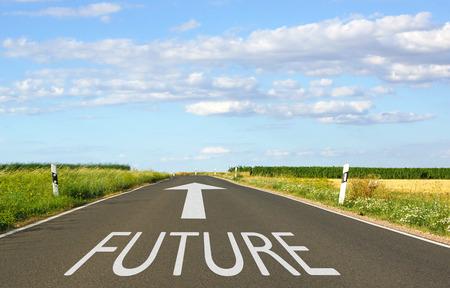 Photo pour Future - image libre de droit
