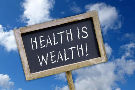 Photo pour Health is Wealth ! - image libre de droit