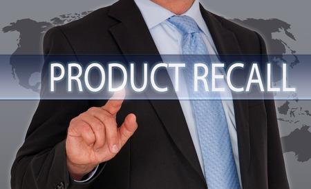 Photo pour Product Recall - image libre de droit