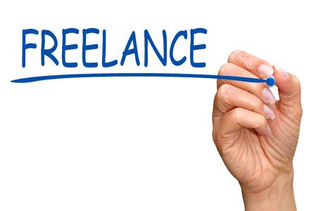 Photo pour Freelance - image libre de droit