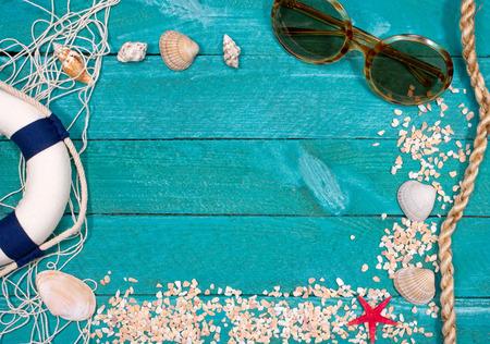 Photo pour Summer Holidays at the Beach - image libre de droit