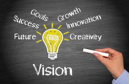 Photo pour Vision - Business Concept - image libre de droit