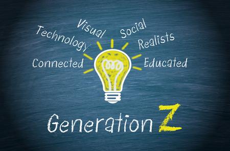 Foto de Generation Z - Imagen libre de derechos