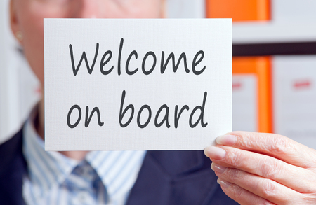 Photo for Welcome on board - Royalty Free Image