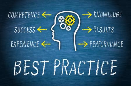 Photo pour Best Practice Business Concept - image libre de droit