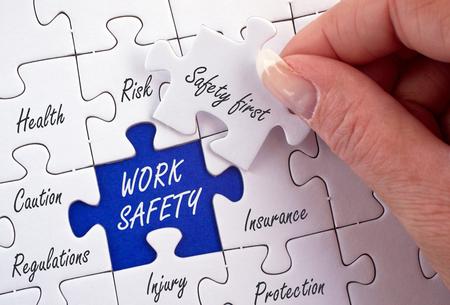 Photo pour Work Safety - image libre de droit