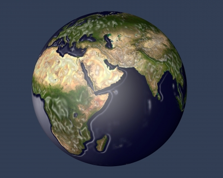 view of planet Earth