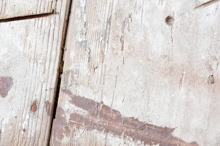 the background of weathered white painted wood texture
