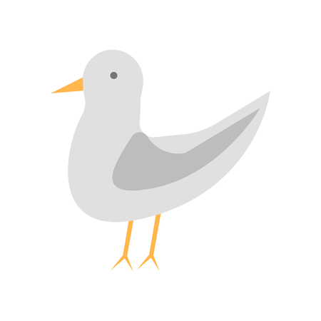 Seagull icon vector isolated on white background for your web and mobile app design, Seagull logo concept
