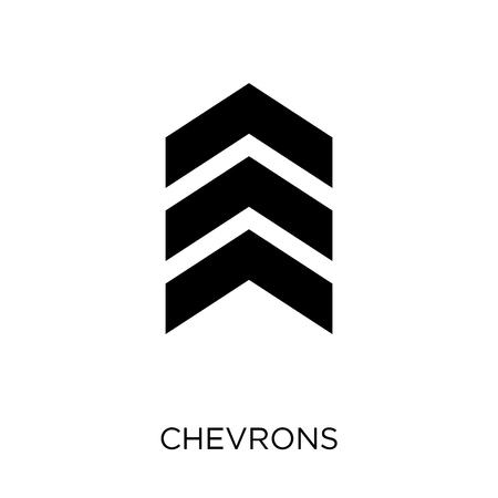 Ilustración de chevrons icon. chevrons symbol design from Army collection. - Imagen libre de derechos