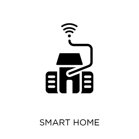 Smart home icon. Smart home symbol design from Smarthome collection. Simple element vector illustration on white background.