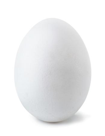 Photo pour  White egg isolated on white - image libre de droit