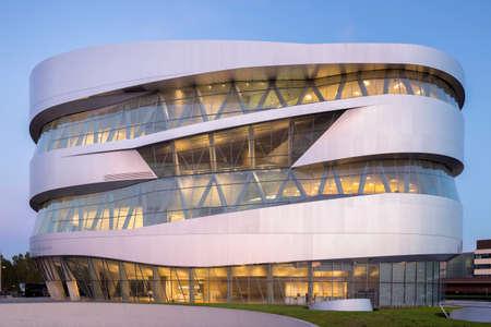 Mercedes-Benz Museum in Stuttgart, Germany