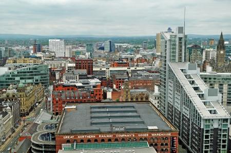 Manchester UK Panorama