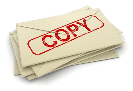copy letters  clipping path included