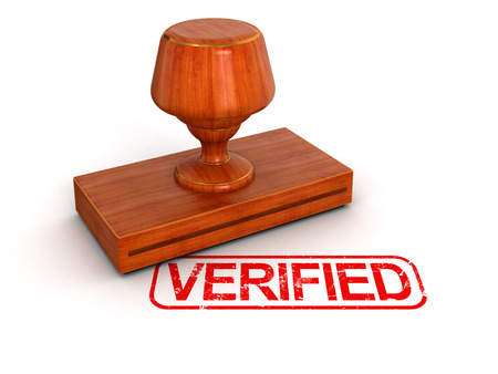 Rubber Stamp Verified