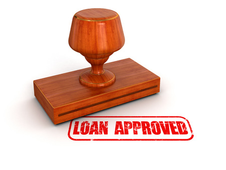 Rubber Stamp Loan Approved