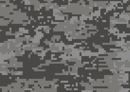 Illustration for The dark grey military camouflage textured background - Royalty Free Image