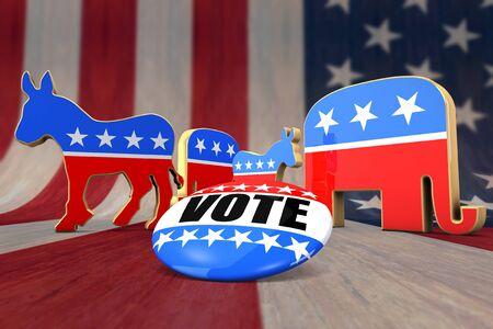 Vote Democrat or Republican