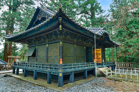 The tomb of Tokugawa Ieyasu in Tosho-gu shrine