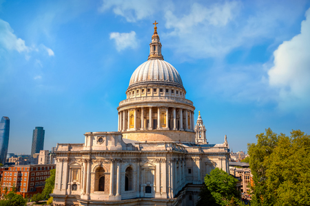 Photo for St. Paul's Cathedral in London, UK London - Royalty Free Image