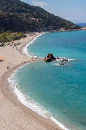 Potami beach in Samos island