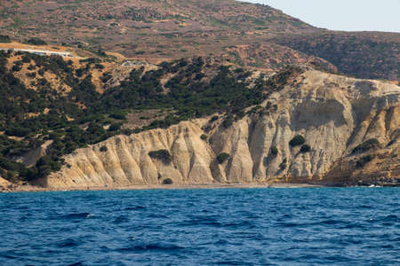 beautiful beach on Milos island