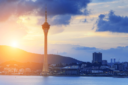 Macau sunset