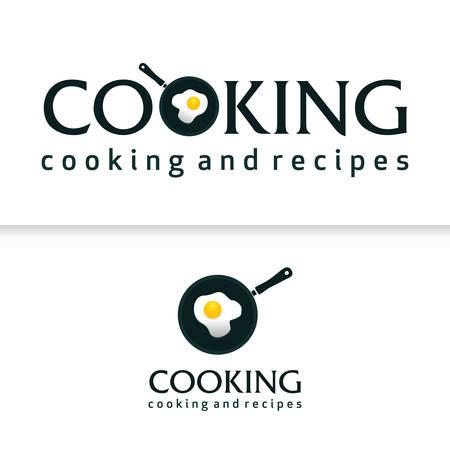 Illustration pour Cooking Pan Chef Kitchen Koki - image libre de droit
