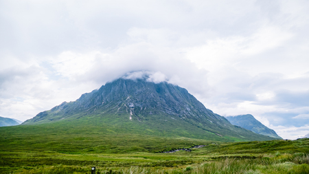 Scottish Highland Mountains Great Britain United Kingdom. Very much one of the main tourist attractions and points of interest in the area.