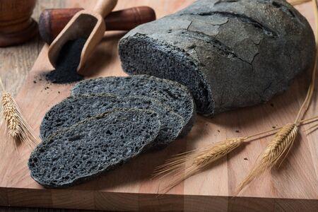 Activated carbon bread - pane carbone vegetale