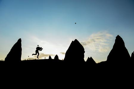 take a photo in Cappadocia