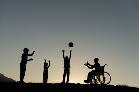 moral support to disabled people