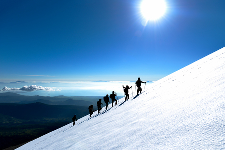 professional hiking activity & mountaineering