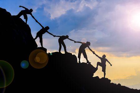 Photo pour cooperation, synergy and teamwork - image libre de droit