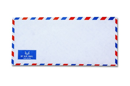 White Vintage Envelope