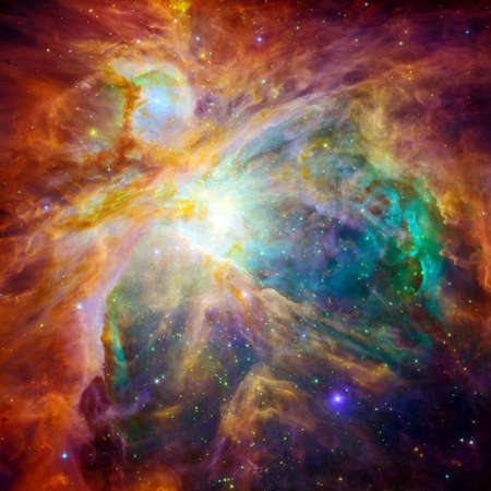 The Cosmic Cloud Orion Nebula - 1500 Light-years Away From Earth (Retouched)