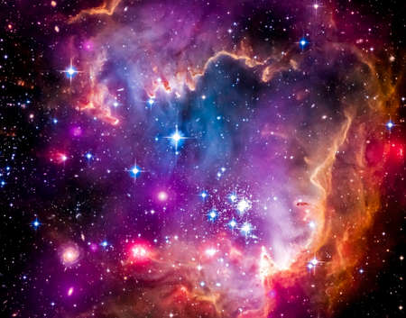 The Magellanic Cloud is a dwarf galaxy and a galactic neighbor of the Milky Way