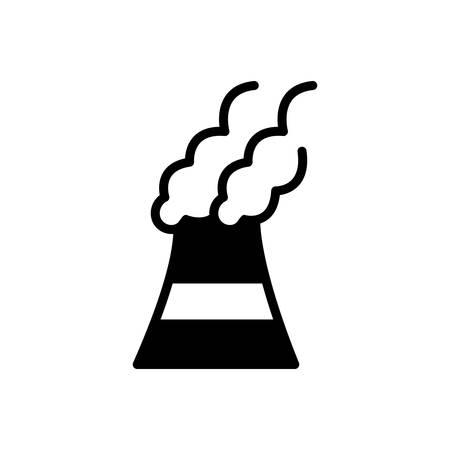 Illustration pour Icon for pollutants, pollutant - image libre de droit