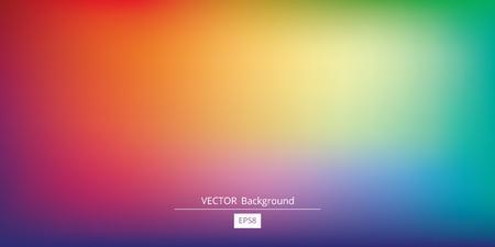 Ilustración de Abstract blurred gradient mesh background in bright rainbow colors. Colorful smooth banner template. - Imagen libre de derechos