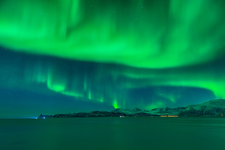 The sky is close to explode like a magical night full of northern lights