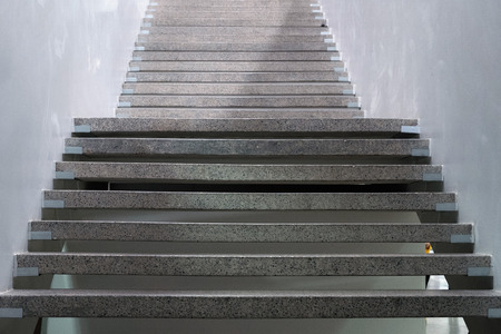 Foto per Stairs. Abstract steps. Stairs in the city. Granite stairs. Stone stairway often seen on monuments and landmarks - Immagine Royalty Free