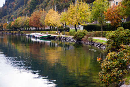 Autumn colors in Zell am See, Austria