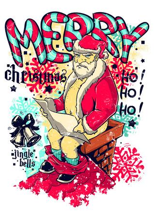 Illustrazione per Bad Christmas - Immagini Royalty Free