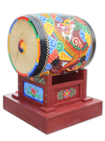 A Korean traditional style of big drum