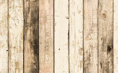 Photo pour Rustic wood planks with a lot of texture in warm tones. - image libre de droit