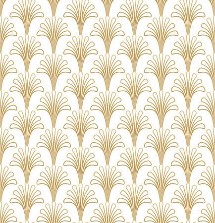 Illustration for Geometric Gatsby Art Deco Pattern Design - Royalty Free Image